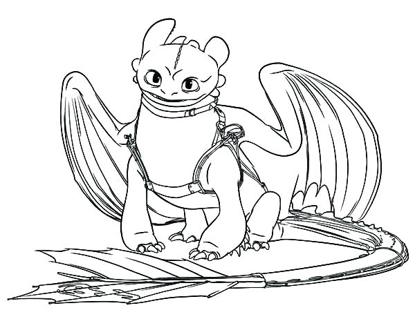 600x462 Night Fury Coloring Page Night Fury Coloring Page How To Train