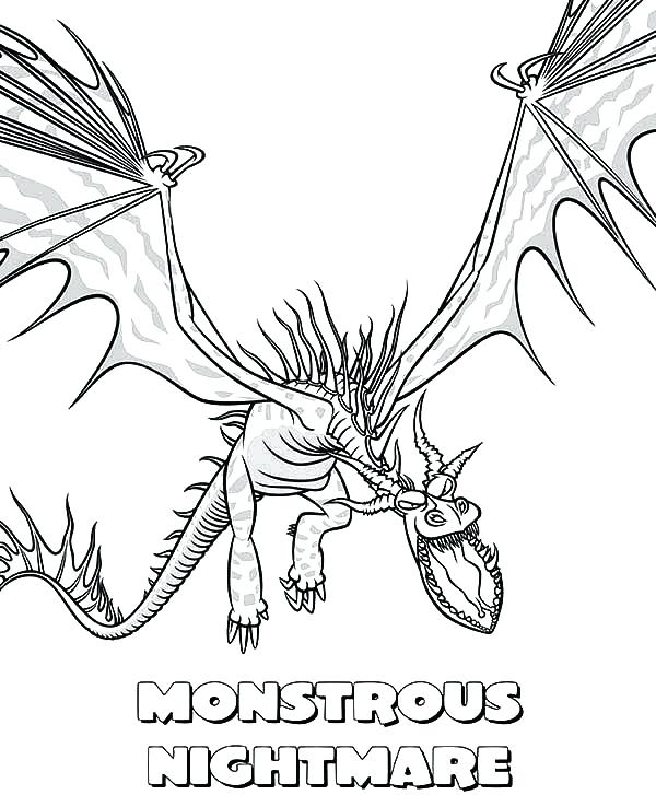 600x727 Night Fury Coloring Pages How To Train Your Dragon Monstrous