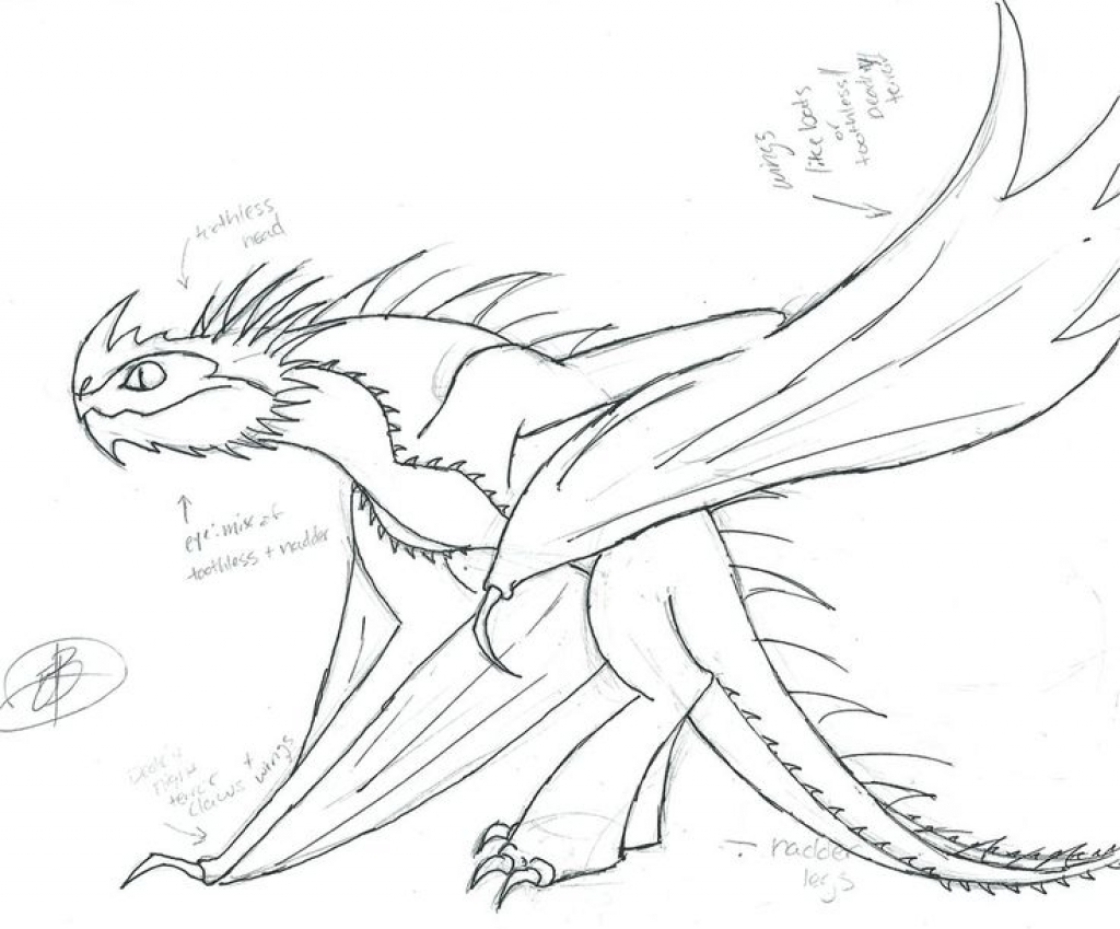 1024x849 How To Train Your Dragon Coloring Pages Fantasy Printable