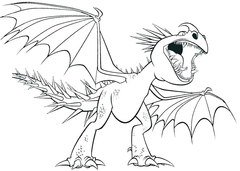 834x595 How To Train Your Dragon Coloring Pages Astrid Toothless Luxury