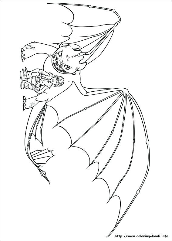 567x794 How To Train Your Dragon Coloring Pages Toothless Picture Pro