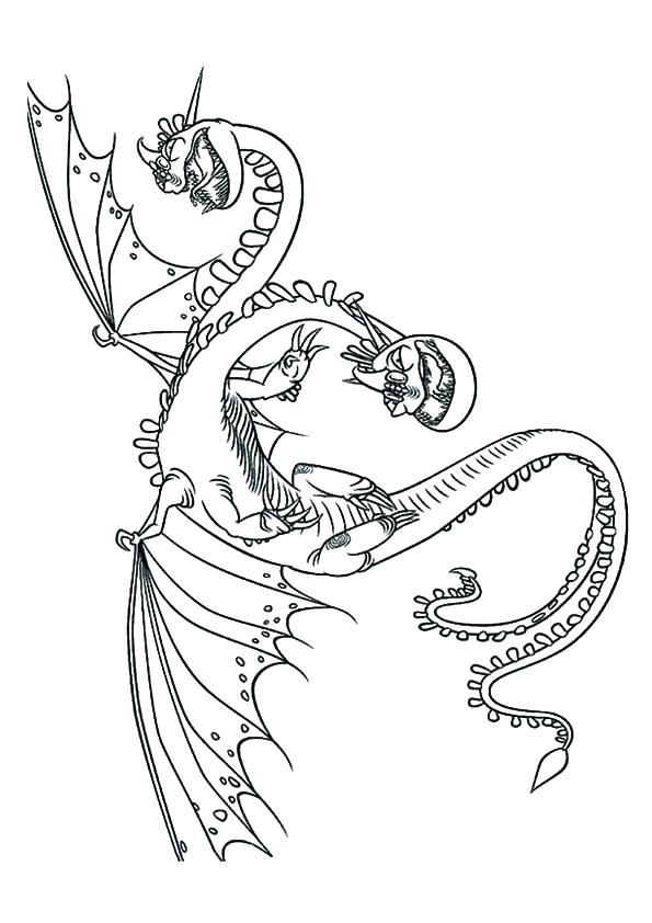 595x842 How To Train Your Dragon Toothless Coloring Pages How To Train How