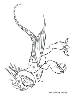 235x308 How To Train Your Dragon Coloring Pages Fun!