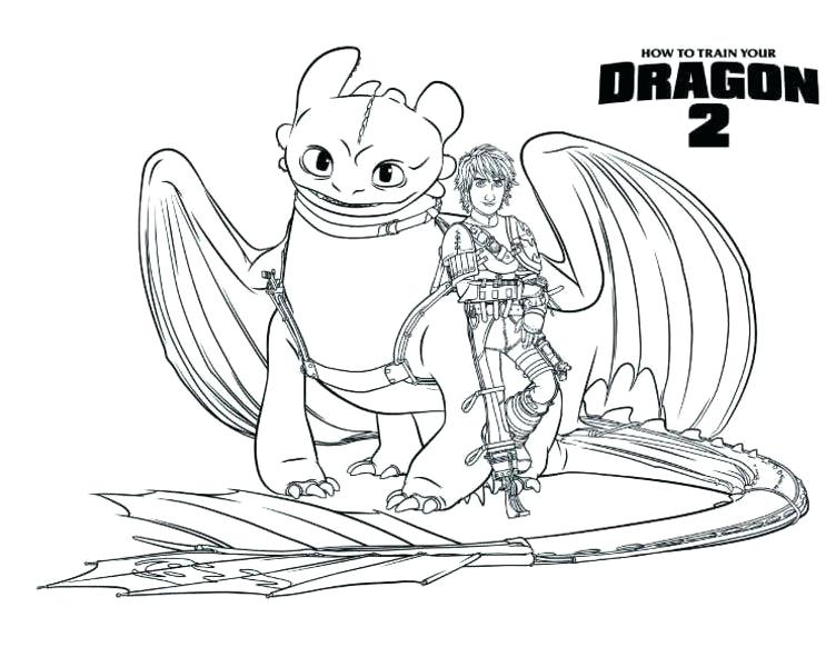 752x600 Awesome How To Train Your Dragon Toothless Coloring Pages