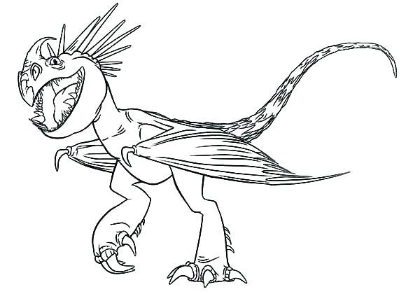 600x420 Printable Dragon Coloring Pages Toothless Dragon Coloring Pages