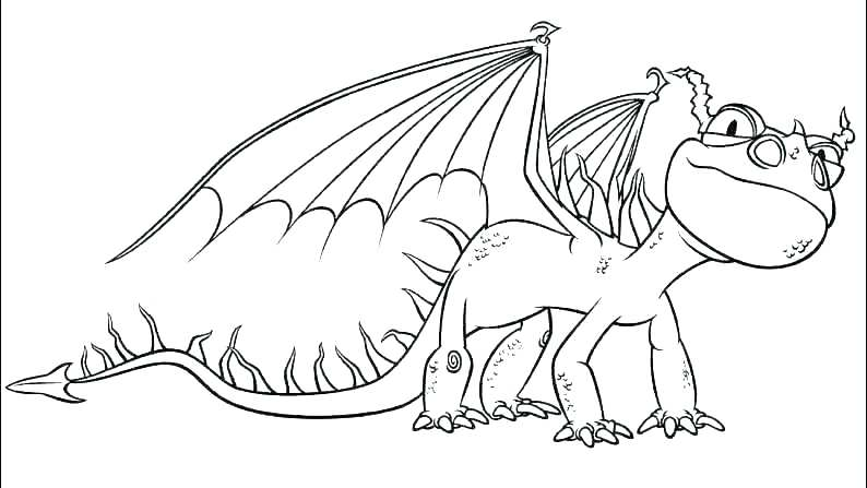 794x447 Toothless Coloring Pages Baby Toothless Dragon Coloring Page