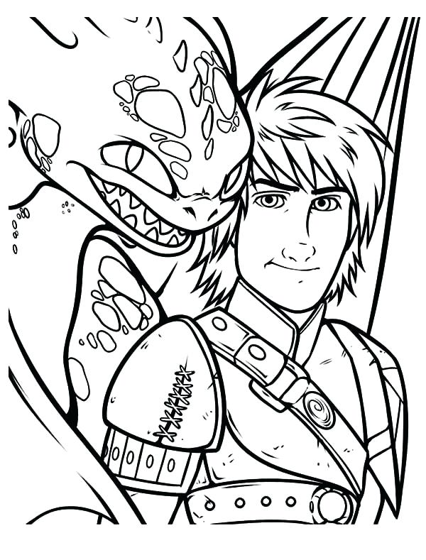 600x789 Toothless Coloring Pages