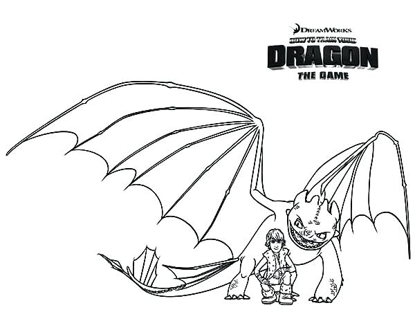 600x464 Toothless Dragon Coloring Pages How To Train Your Dragon