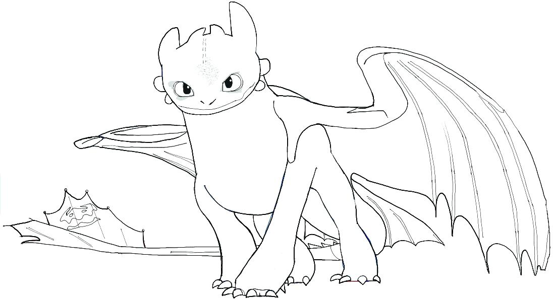 How To Train Your Dragon Coloring Pages Toothless At GetDrawings Free  Download