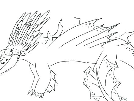 440x330 Free How To Train Your Dragon Coloring Pages Toothless Dragon
