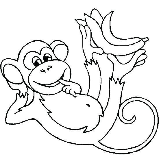 howler monkey coloring page 2