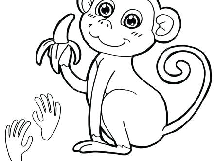 howler monkey coloring page 28