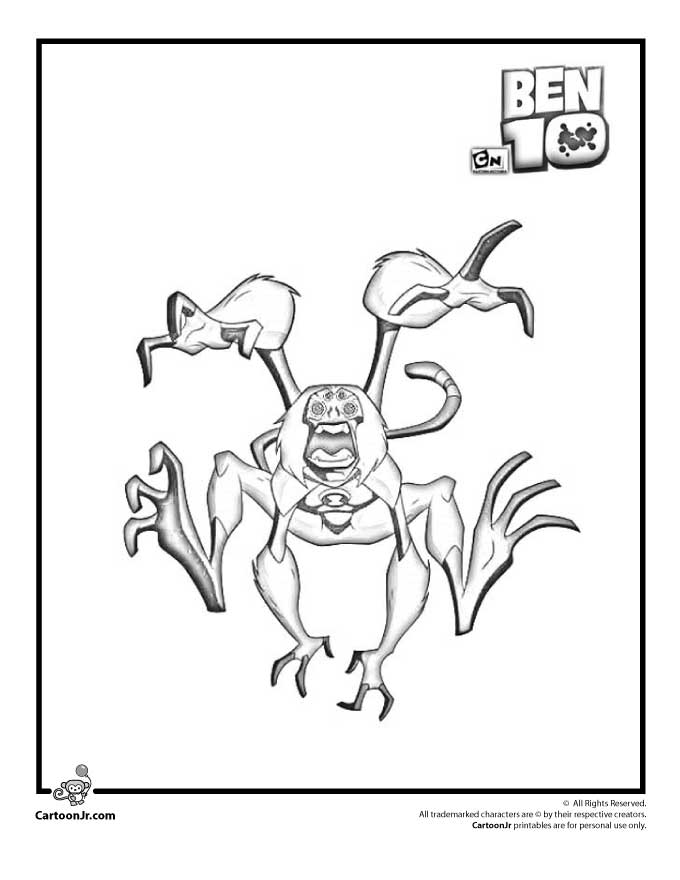 howler monkey coloring page 31