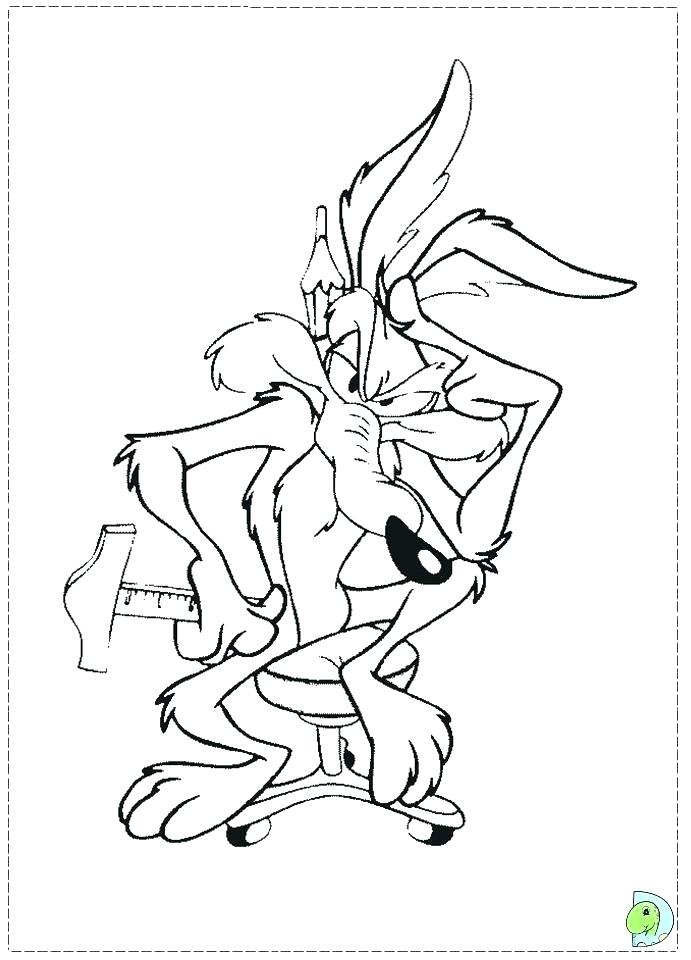 691x960 Coyote Coloring Page Wile E Coyote Coloring Page Wile E Coyote