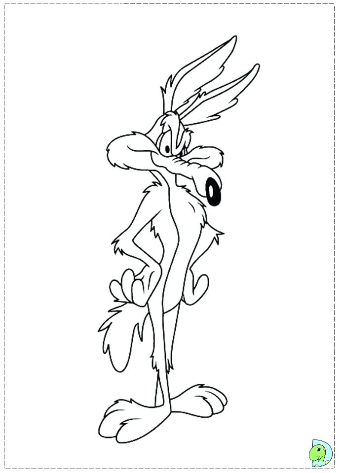 691x960 Coyote Coloring Pictures Kids Coloring Free Printable Coyote