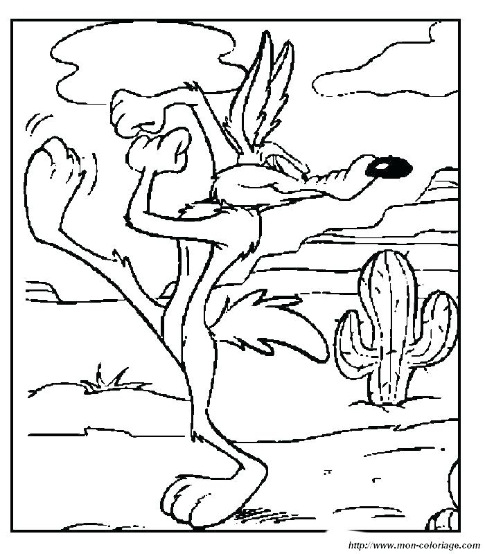 700x800 Coyote Coloring Page Coyote Coloring Page Coyote Coloring
