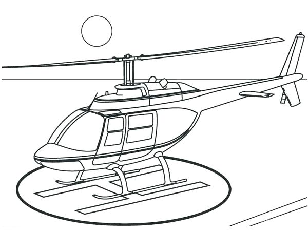 600x450 Helicopter Coloring Page Helicopter Coloring Page Full Size