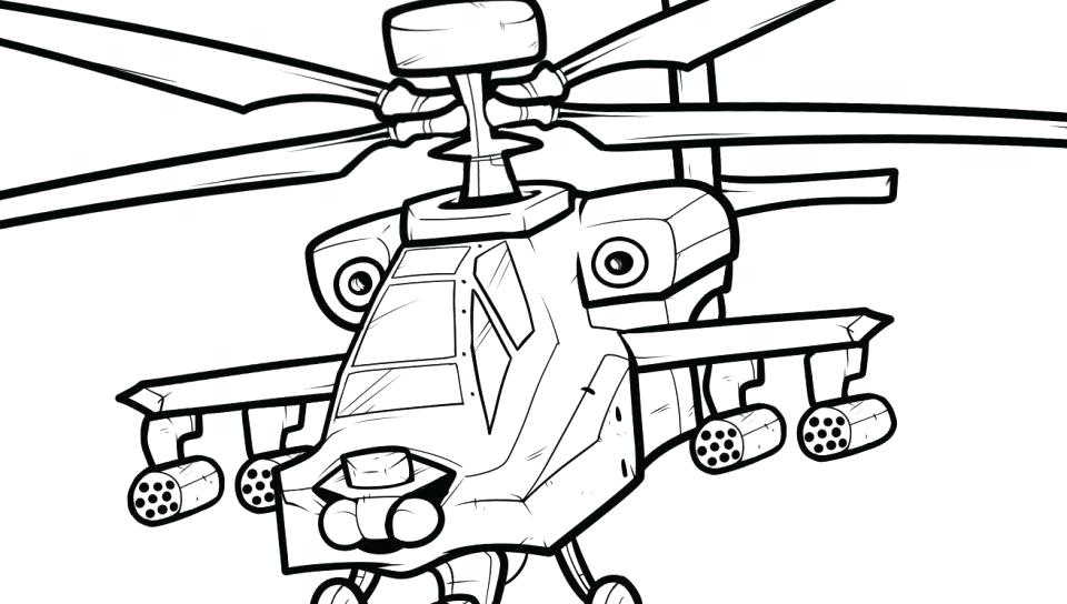 960x544 Helicopter Coloring Page Helicopter Coloring Pages Best For Kids