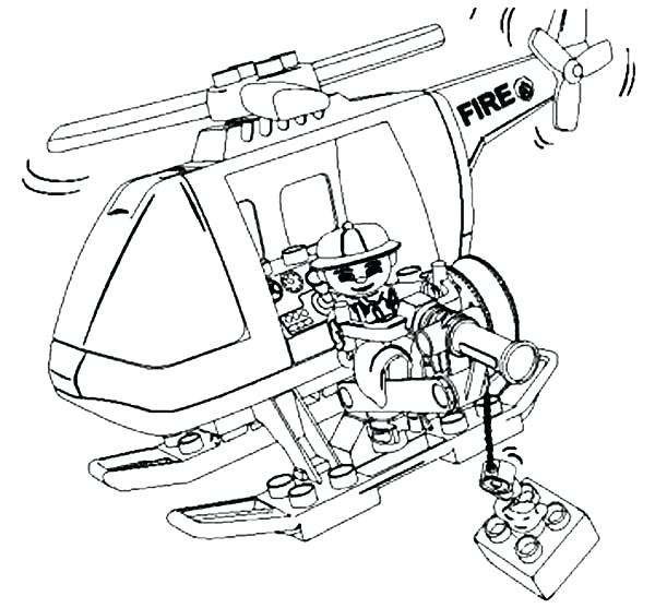 600x557 Helicopter Coloring Pages Fireman Helicopter Coloring Pages Huey
