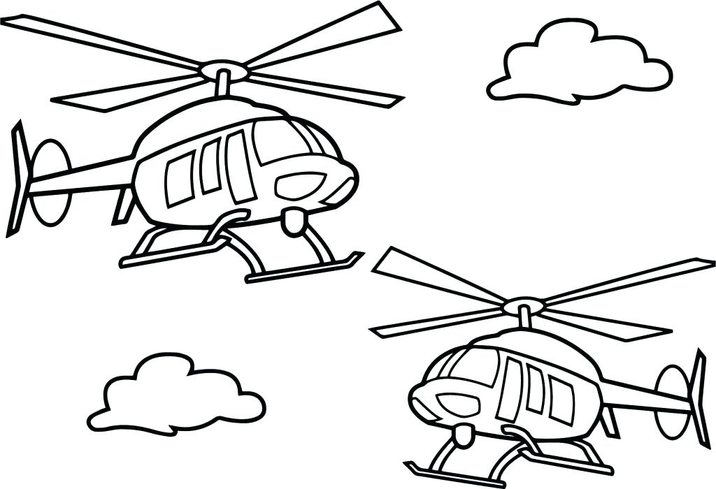 1024x700 Helicopter Coloring Pages Helicopter Coloring Page Helicopter