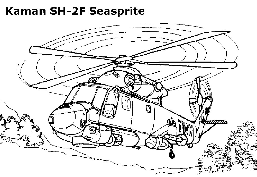 Huey Helicopter Coloring Pages At Getdrawings Com Free For