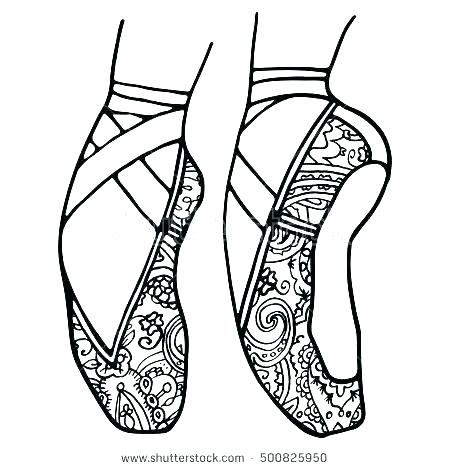 450x470 Dancer Coloring Pages Young Dancers Young Dancers Coloring Page