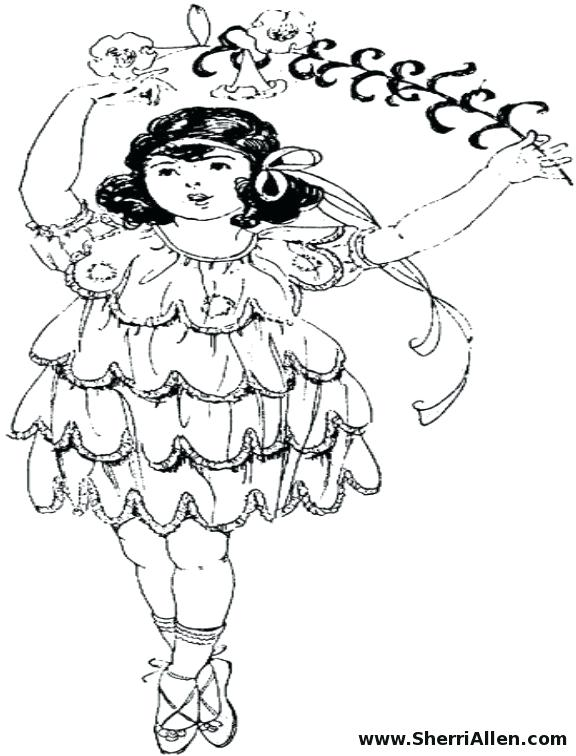 576x756 Cartoon Hula Dancers Coloring Pages Category Clip Art Library