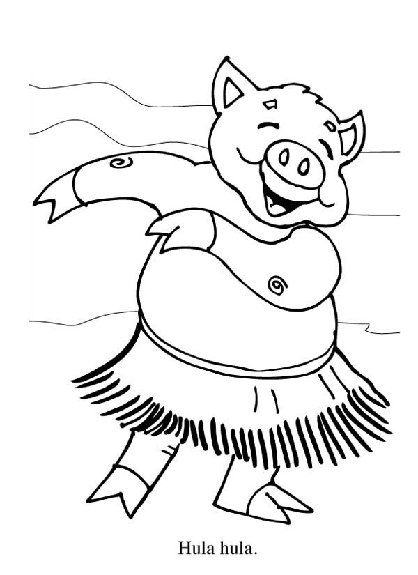 600x825 Hula Hoop Coloring Pages Lovely Hula Coloring Pages