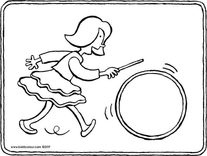 800x602 Girl Colouring Pages