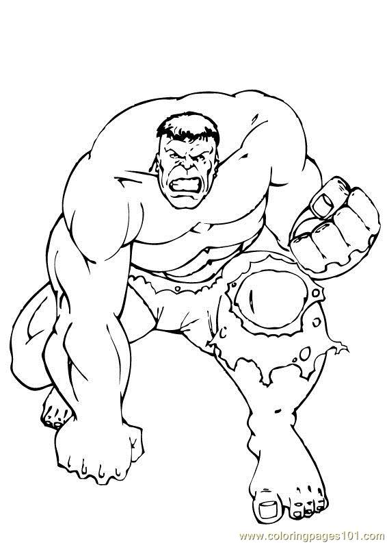 Hulk Coloring Pages Printable Printable Hulk Coloring Pages