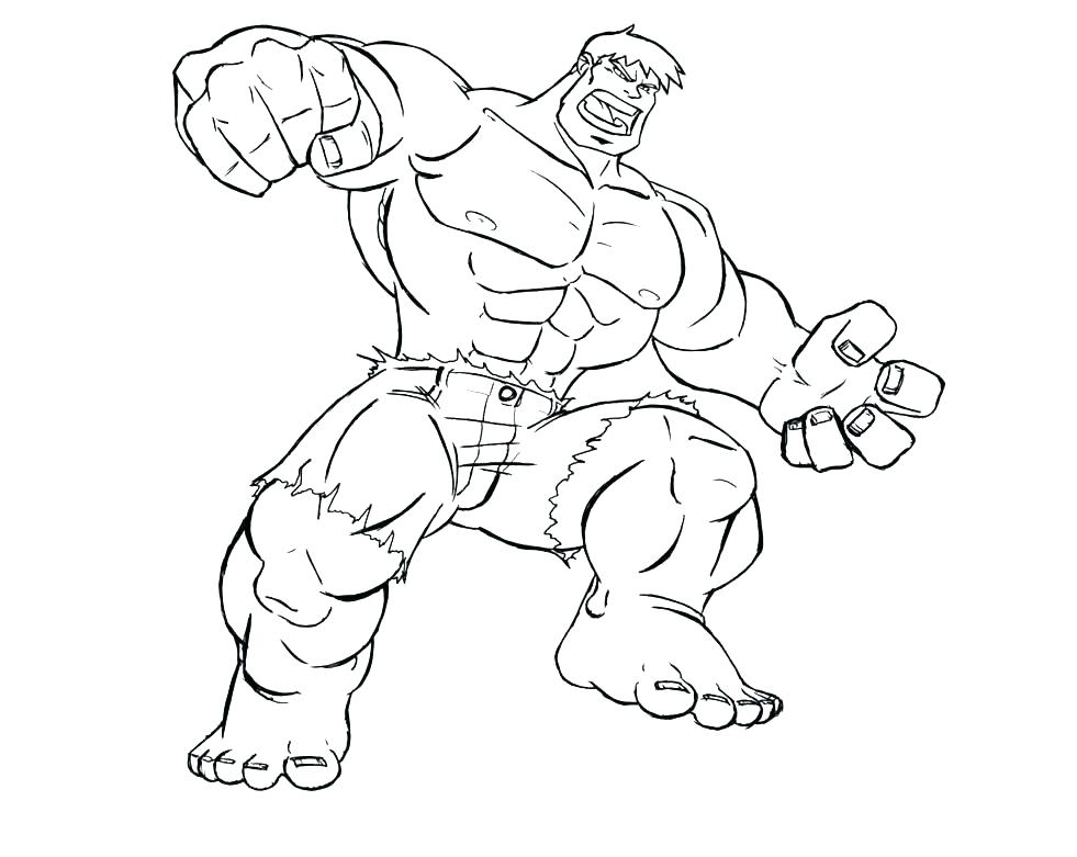 Hulk Face Coloring Pages At Getdrawings Free Download