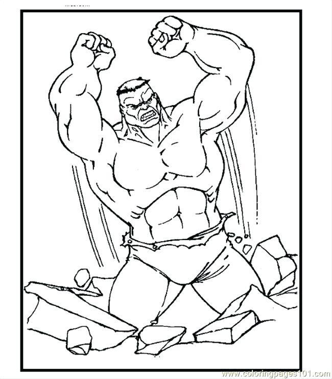 650x742 Hulk Coloring Page Coloring Pages Hulk Coloring Page Cartoons Hulk