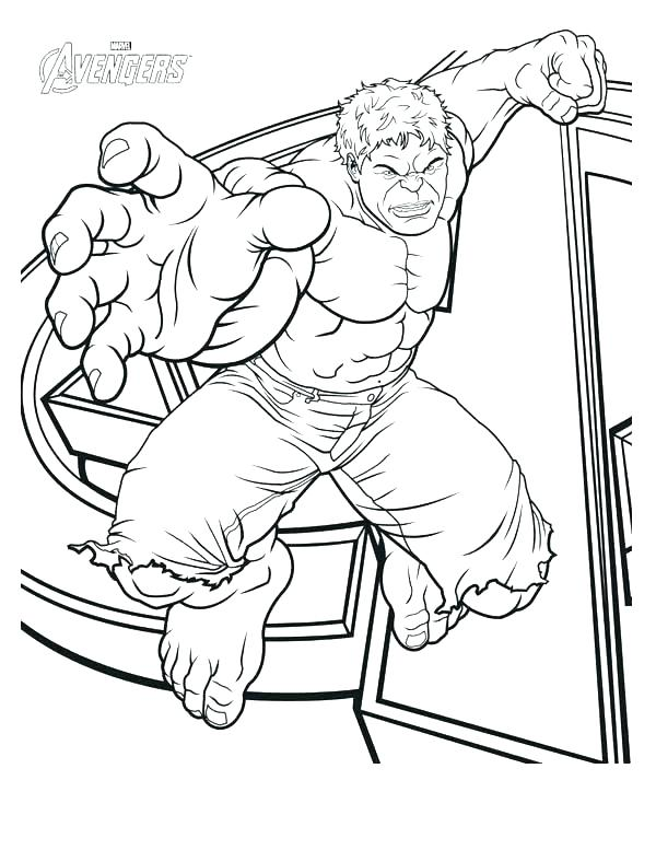 600x777 Hulk Coloring Pages Free Hulk Coloring Pages Printable Download