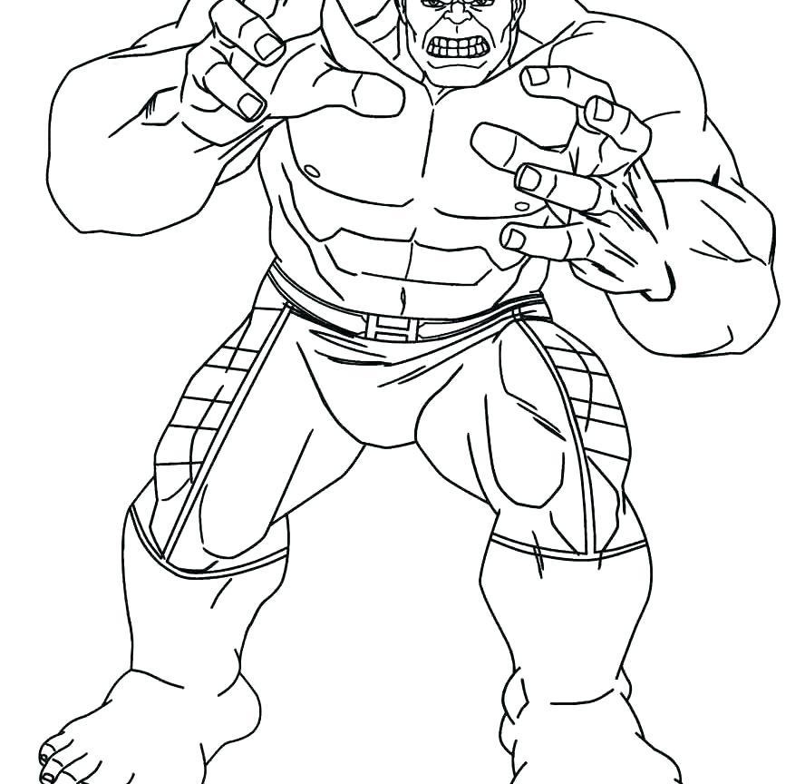 888x864 Hulk Hogan Coloring Pages Hulk Hogan Coloring Page Hulk Hogan