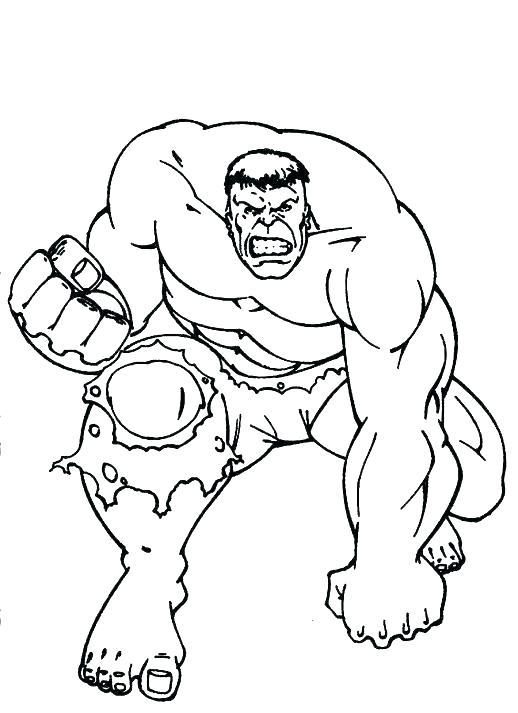 518x713 Hulk Hogan Coloring Pages Hulk Printable Coloring Pages Hulk Smash