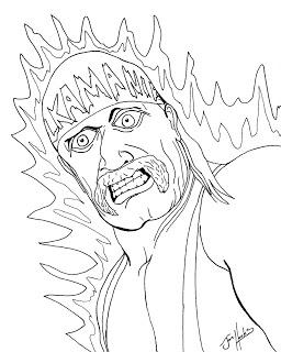 256x320 Hulk Hogan Coloring Pages Hulk Hogan Coloring Pages Free Kids