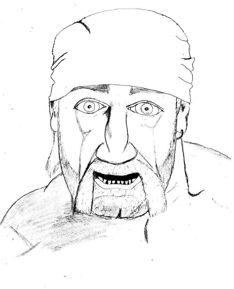 804x993 Hulk Hogan Coloring Pages