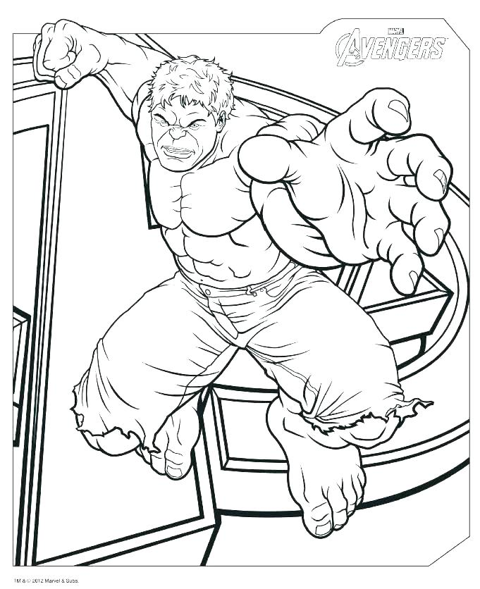 681x836 Hulk Printable Coloring Pages Printable Avengers Coloring Pages
