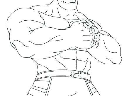 440x330 Red Hulk Printable Coloring Pages Kids Coloring Hulk Smash