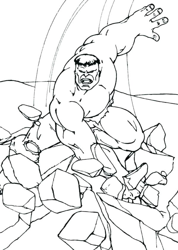 600x840 Hulk Smash Coloring Pages Coloring Pages Of Hulk Hulk Smash