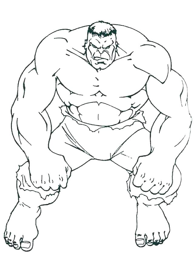 640x871 Hulk Smash Coloring Pages Hulk Coloring Page The Rock Coloring