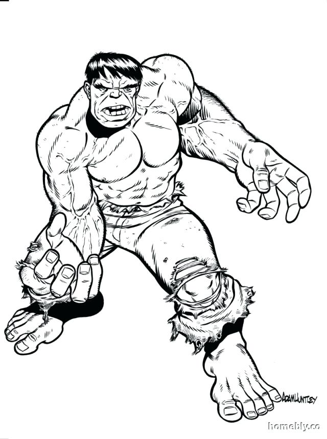 640x860 Hulk Smash Para Colorear Free Hulk Coloring Pages For Kids Hulk