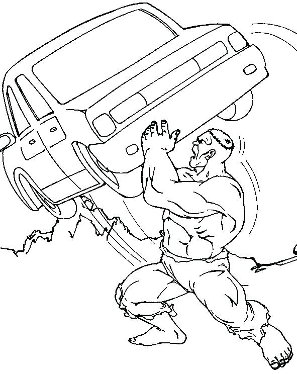 591x744 Primary Coloring Pages Incredible Hulk Coloring Page Abomination