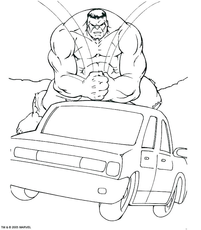 The best free Hulkbuster coloring page images. Download ...