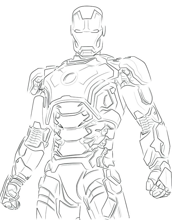 hulkbuster coloring pages 30