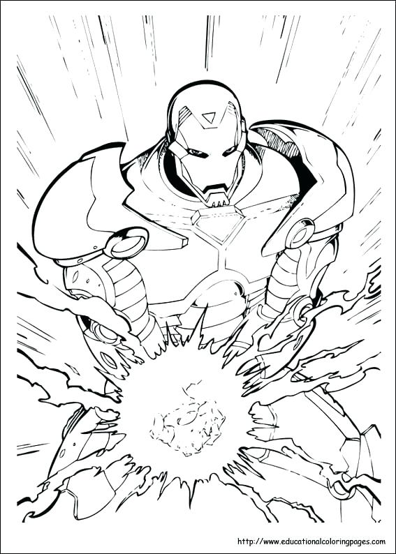 hulkbuster coloring pages 32
