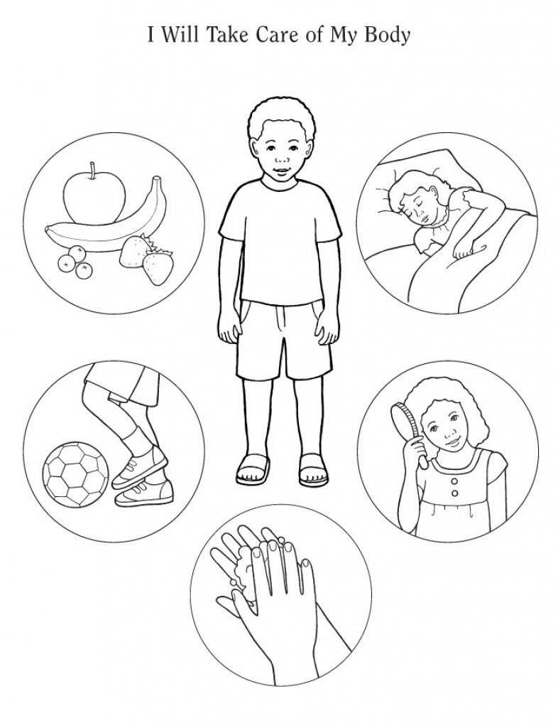 786x1024 Body Parts Coloring Pages For Kids Many Interesting Learn My