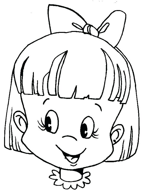 604x800 Human Face Coloring Page Kids Drawing And Pages On Human Human