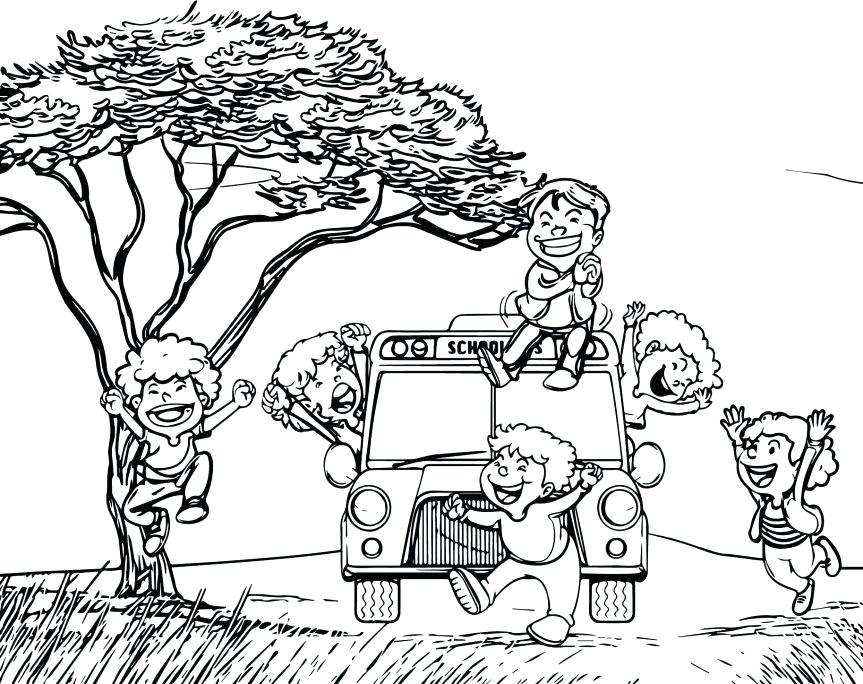 863x684 Human Body Coloring Pages Coloring Pages Crazy Child School Bus