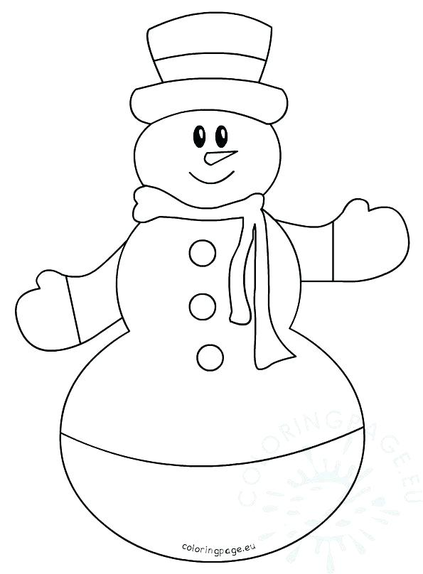 595x808 Coloring Book Pages Snowman Snowman Head Coloring Page Also